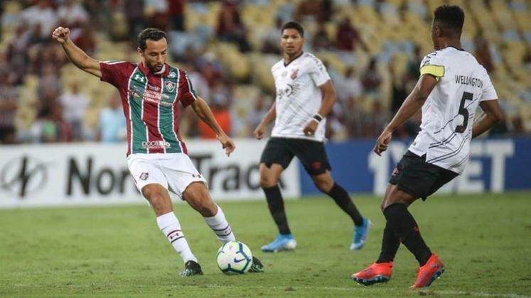 5ª rodada - Athletico-PR x Fluminense - Na Arena da Baixada, os direitos de imagem ficariam ligados à Turner, mesmo com o Fluminense tendo vínculo com a Rede Globo.