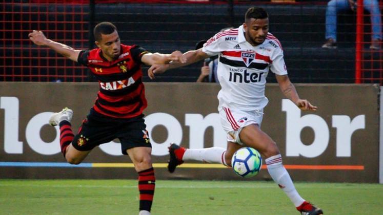 5ª rodada - Sport x São Paulo - Jogo será no dia 23 de agosto, domingo, às 19h, na Ilha do Retiro. O Sport jogou a Série A pela última vez em 2018, quando perdeu no Recife por 3 a 1 e empatou no Morumbi por 0 a 0.