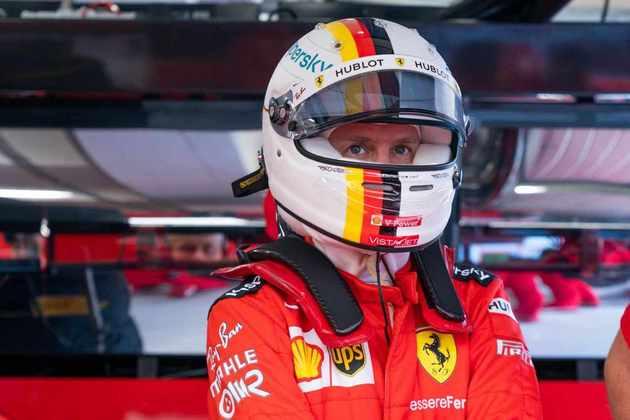 5) Sebastian Vettel (Ferrari), 1min14s774
