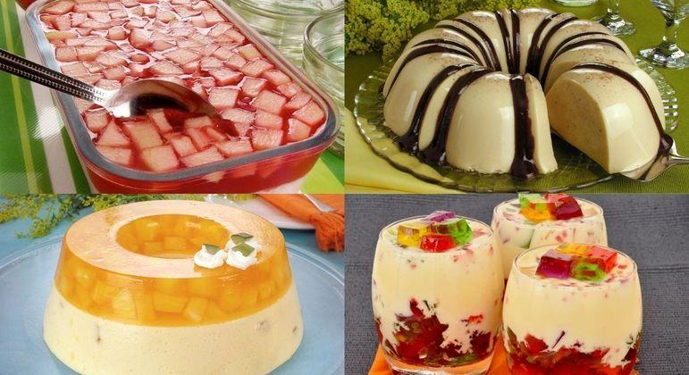 5 sobremesas de gelatina para provar hoje mesmo