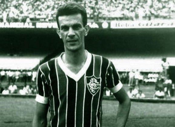5º - Telê Santana - 1951/1960 - 164 gols em 559 partidas