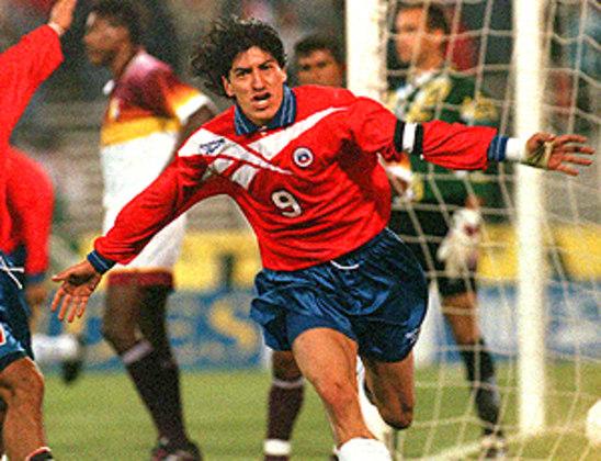 5º - Zamorano - Chile - 17 gols