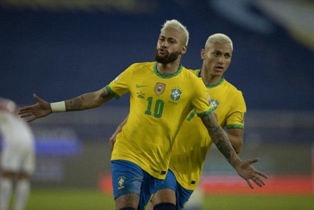 5/07 - segunda-feira: 20h - Copa América (semifinal) - Brasil x Peru / Onde assistir: SBT e ESPN Brasil
