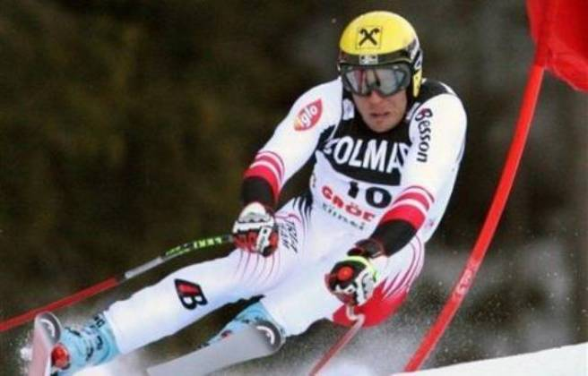 59) Hermann Maier (Áustria) - Esqui