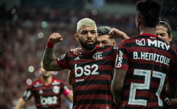 6º - 63.409 pagantes - Flamengo 5 x 0 Grêmio - Libertadores de 2019 (Maracanã) - Renda: R$ 8.150.645;