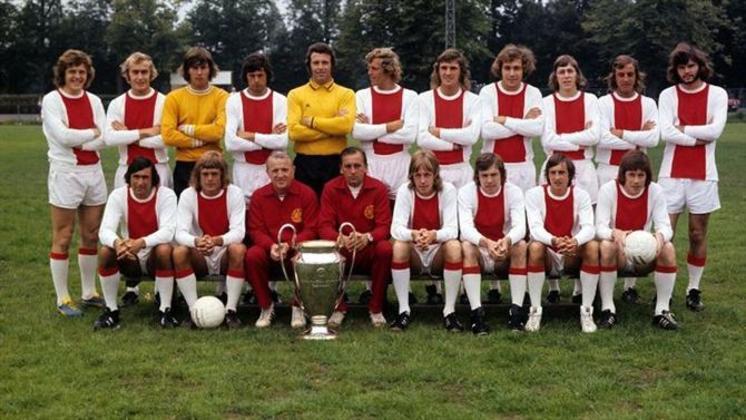 6º - Ajax - 4 títulos (1970–71, 1971–72, 1972–73 e 1994–95).