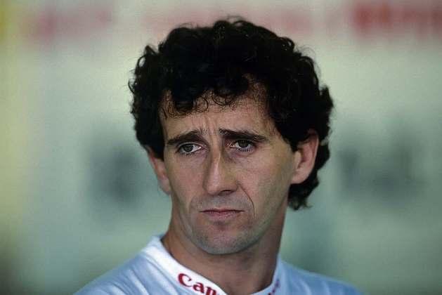 6 - Alain Prost, 33 poles, a última delas com o Williams FW15C no GP do Japão de 1993