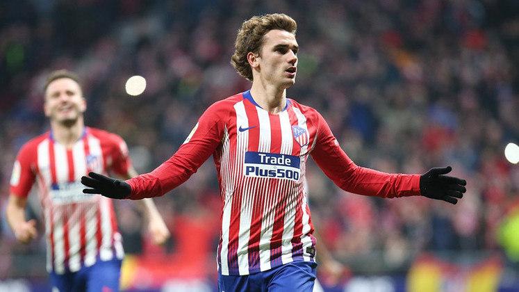 Antoine Griezmann - Atlético de Madrid para o Barcelona em 2019- € 120 milhões