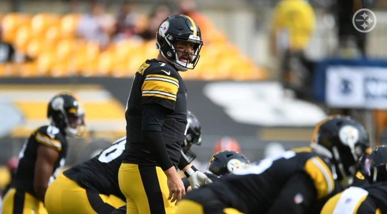 6º Ben Roethlisberger: Comendo pelas beiras, com precisão e conduzindo os Steelers aos triunfos, Big Ben se posiciona na briga pelo MVP.