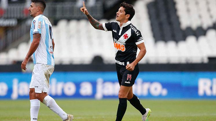 6º - Cano - argentino - 2020 - 9 gols em 13 jogos - 0,69 gol por jogo