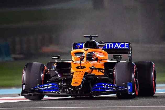 6 - Carlos Sainz (McLaren) -  6.16 - Praticamente o mesmo de Norris.