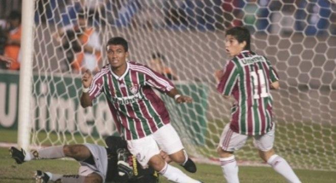 6 de agosto de 2009 - Fluminense 5 x 1 Sport - Maracanã - Brasileirão