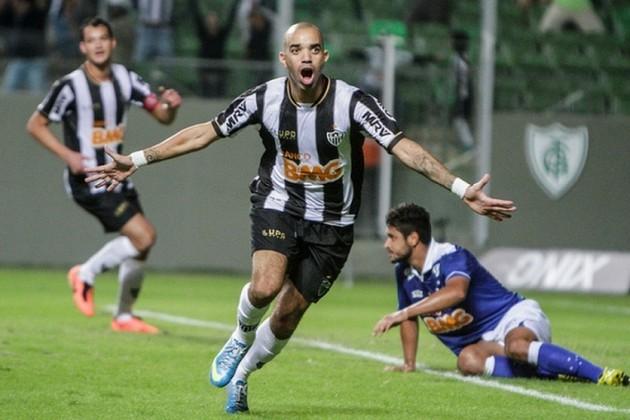 6º - Diego Tardelli - Atlético-MG - 69 gols