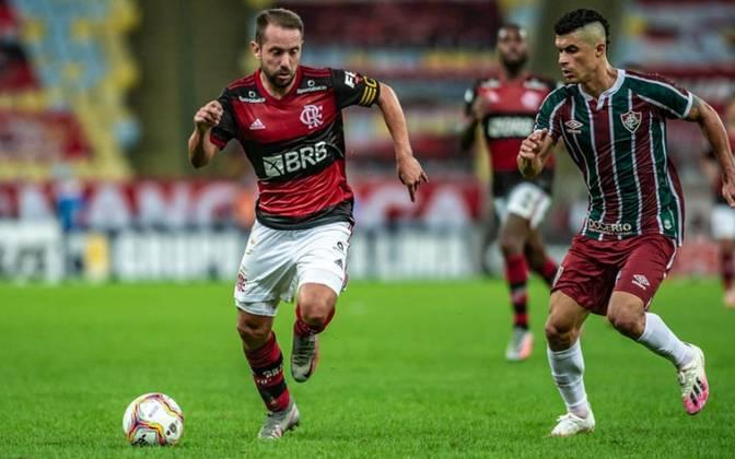 6º - Everton Ribeiro - Flamengo - 18 dribles