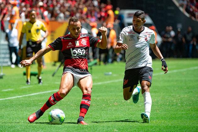 6) Flamengo 3 x 0 Athletico-PR - Data: 16/2/2020 - Local: Mané Garrincha - Público pagante: 48.009 - Supercopa do Brasil
