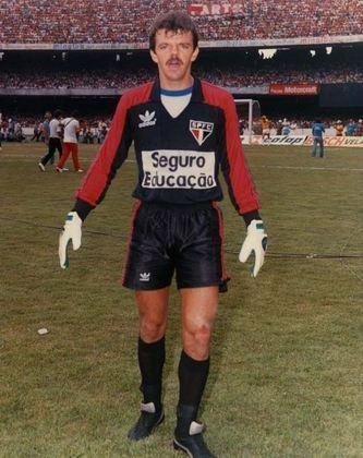 6° - Gilmar Rinaldi: 226 jogos - O ex-goleiro jogou no Tricolor entre 1985 a 1990, sendo um dos destaques na posição do clube.