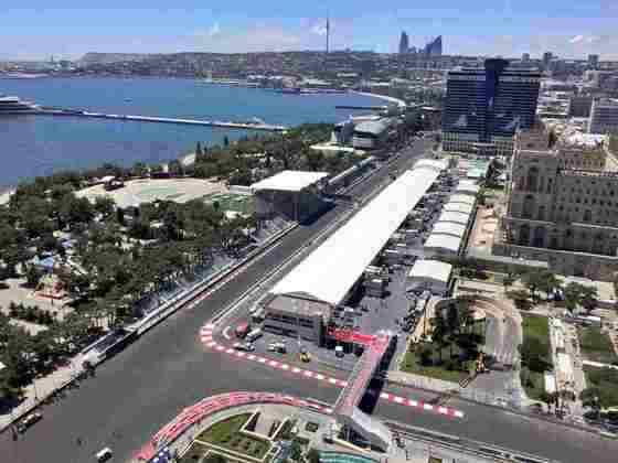 6 - GP do Azerbaijão - Baku - 6 de junho.