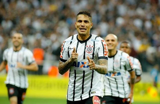 6) Guerrero - 1 gol - marcou o terceiro e decisivo gol na vitória por 3 a 2 (de virada) na 23ª rodada do Brasileirão-2014, em 21 de setembro de 2014.