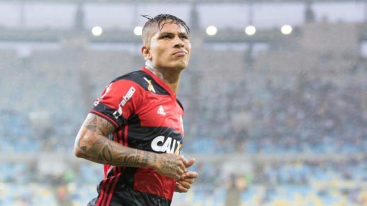 6º) Guerrero – 43 gols