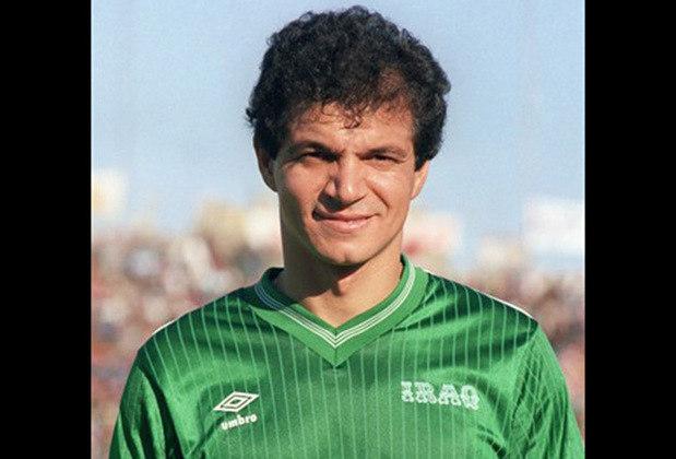 6 - Hussein Saeed - O futebol do Iraque reverencia até hoje o artilheiro Hussein Saeed. Ele 78 gols em 137 partidas. Depois que se aposentou virou presidente da Federação Iraquiana de Futebol