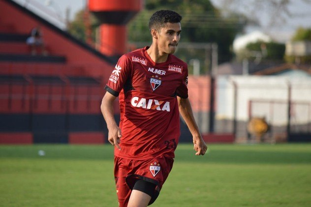 6º - Jorginho - Atlético-GO - 2 gols