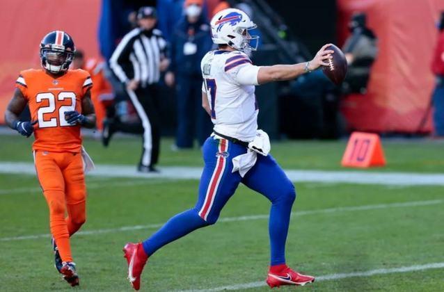6º Josh Allen (Buffalo Bills): A crescente do Buffalo nas últimas semanas tem nome e sobrenome: Josh Allen. O QB faz uma temporada de encher os olhos.