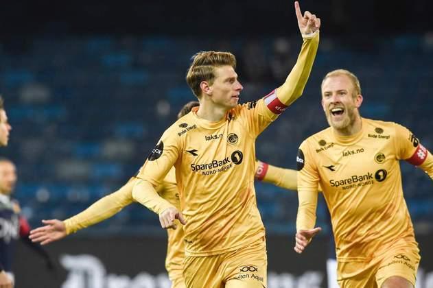 6º: Kasper Junker (Bodo/Glimt) - 27 gols / 40,5 pontos