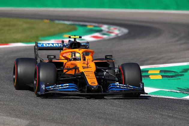 6) Lando Norris (McLaren), 1min19s820