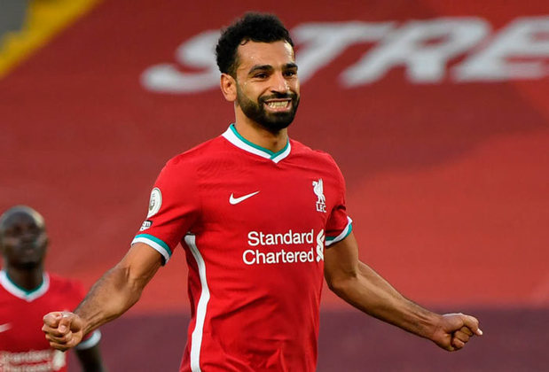 6º lugar: Mohamed Salah: 25 pontos