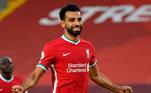 6º lugar: Mohamed Salah, atacante do Liverpool - Faturamento de 37 milhões de dólares por ano