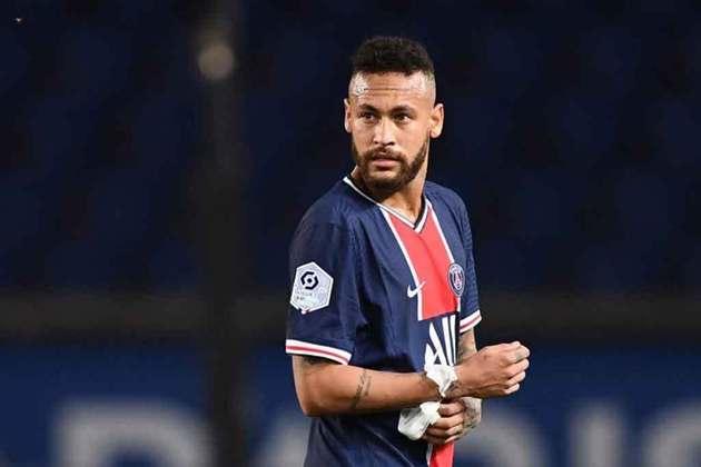 6º - Neymar Jr (Futebol) : receita em 2020 - 95 milhões de dólares (aproximadamente R$ 486,67 milhões)