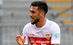 6º: Nicolás González - Atacante - 23 anos - Último clube: Sttugart - Destino: Fiorentina - Valor do negócio: 23 milhões de euros ( aproximadamente R$ 136,41 milhões)