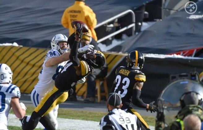 6º Pittsburgh Steelers (12-3): O segundo tempo contra os Colts relembrou aquele time que ficou 11 semanas invicto na temporada 2020.