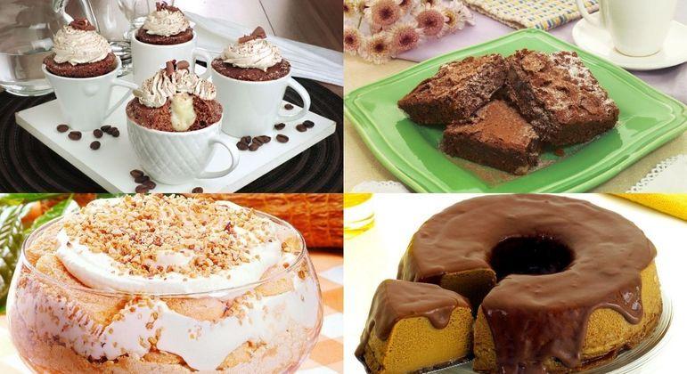 6 receitas doces para comemorar o Dia Nacional do Café