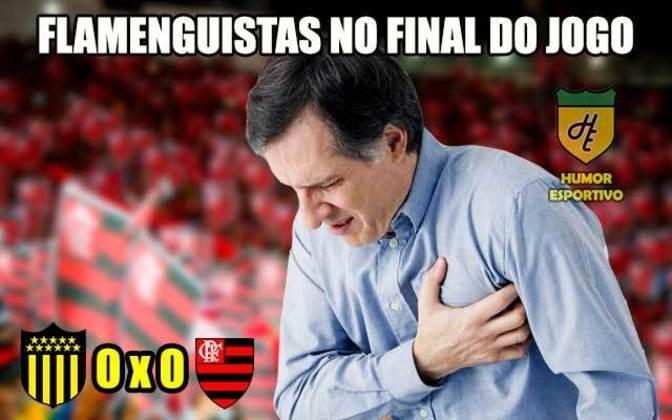 6ª rodada (08/05/19) - Peñarol 0 x 0 Flamengo