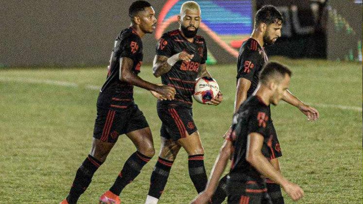 6ª rodada - Boavista 1x1 Flamengo (Estádio Elcyr Resende - 27/03/2021) - Gol do Flamengo: Vitinho