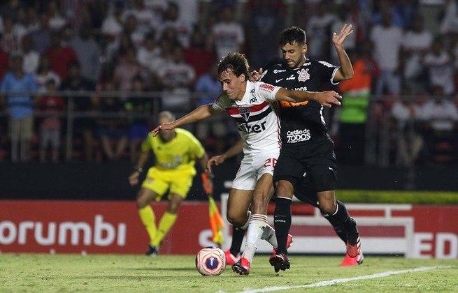 6ª rodada - São Paulo x Corinthians - Clássico será às 11h do dia 30 de agosto, domingo, no Morumbi. No Brasileirão de 2019, o São Paulo perdeu em Itaquera por 1 a 0 e ganhou pelo mesmo placar no Morumbi. Neste ano, houve empate sem gols no Paulistão.
