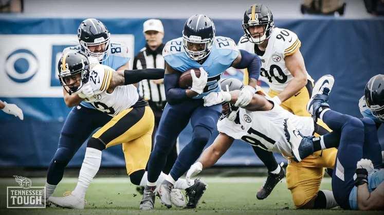 6 - Tennessee Titans: A primeira derrota na NFL demorou a vir, mas os Titans demonstraram muito empenho mesmo no revés.