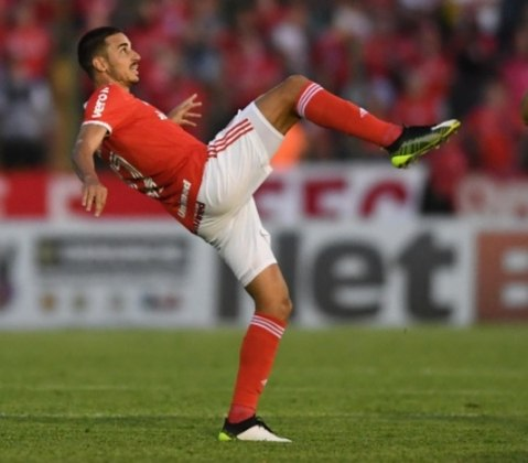 6º - Thiago Galhardo - Internacional - 2 gols
