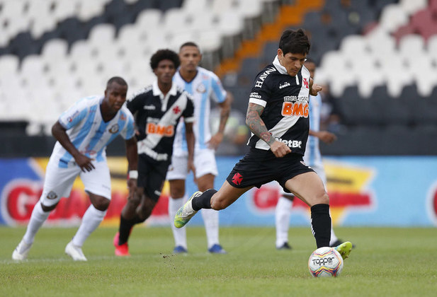 6º - Vasco 3x1 Macaé - Campeonato Carioca 2020. - Cano marcou de pênalti.