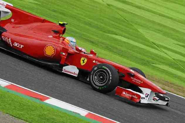 6 - Vice-campeão em 2010, 2012 e 2013, Fernando Alonso também tem 11 triunfos