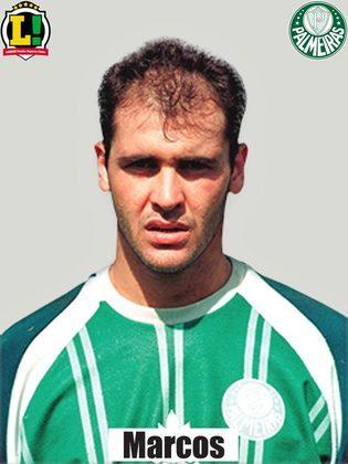 6,0 - Marcos - Fez uma grande defesa no início do jogo. Não teve culpa no primeiro gol do Timão, mas se atrapalhou com Roque Júnior no segundo gol.