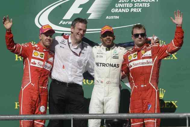 62 - Lewis Hamilton venceu o GP dos Estados Unidos de 2017 e encaminhou a conquista do quarto título mundial