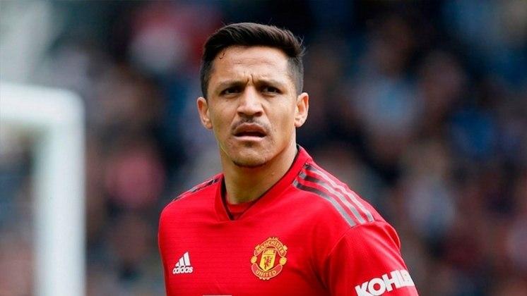 7 - Alexis Sánchez (Manchester United-ING): R$ 132,5 milhões anuais.