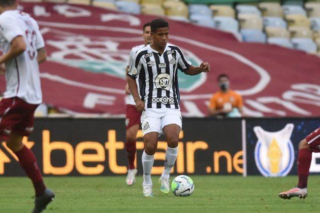 7º - Ângelo Gabriel – 16 anos – atacante – Santos / valor de mercado: 7 milhões de euros