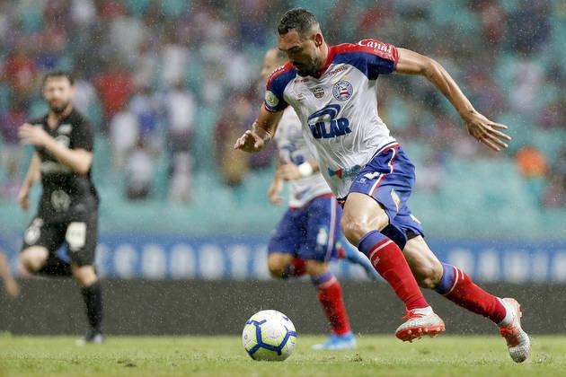 7º - Bahia - 68,6% de aproveitamento - 17 jogos: 10 vitórias, 5 empates e 2 derrotas