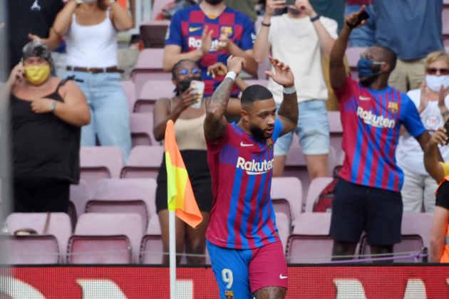 7º - Barcelona: Memphis Depay, Sergio Agüero, Eric García, Luuk de Jong e Yusuf Demir.