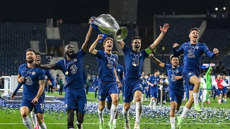 7º - Campeão da Champions League contra o Manchester City, o Chelsea atingiu a glória máxima do futebol europeu pela segunda vez em sua história. Além disso, os ingleses seguraram a 7ª colocação de clubes com maior valor de mercado