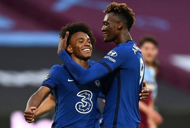 7º: Chelsea - 287 pontos - 163 jogos
