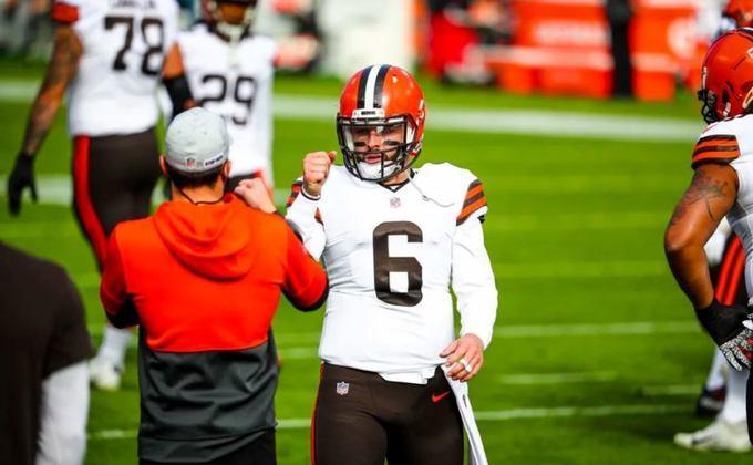 7º Cleveland Browns (9-3) - O jogo corrido é extremamente produtivo, a defesa é agressiva e Baker Mayfield começou a jogar bem. Os Browns vêm aí!